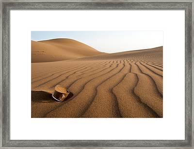 The Thirsty Desert. Framed Print by Soheil Soheily