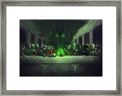 The Thirteenth Member Framed Print by Craig Lee