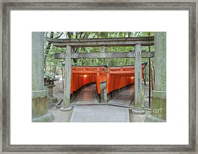 The Thousand Gates Framed Print by Rob Tilley