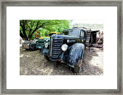 The Three Amigos Framed Print by James Steele