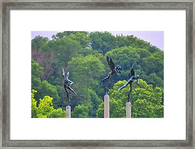 The Three Angels Framed Print by Bill Cannon