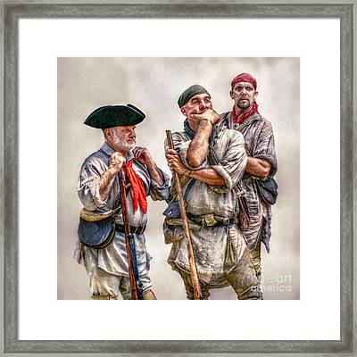 The Three Frontiersmen  Framed Print by Randy Steele