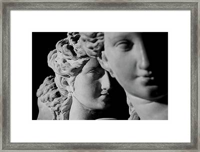 The Three Graces Framed Print by Roman School