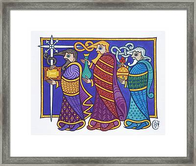 The Three Kings Framed Print by Ian Herriott