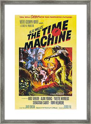 The Time Machine, From Left Center Framed Print by Everett