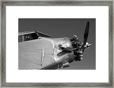 The Tin Goose Framed Print by Rick Pisio