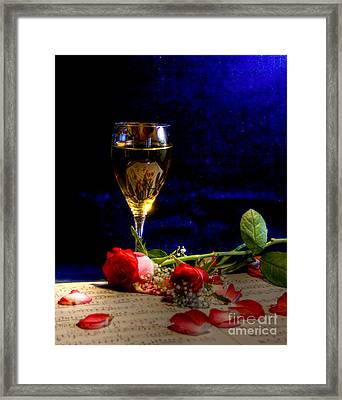 The Toast Framed Print by Sophie De Roumanie