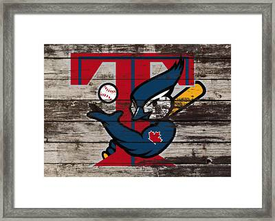 The Toronto Blue Jays 1a Framed Print by Brian Reaves
