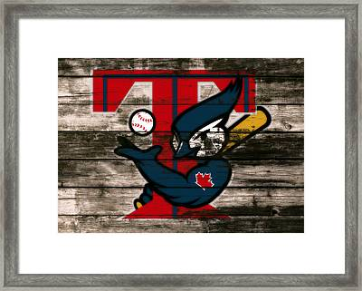 The Toronto Blue Jays 1c Framed Print by Brian Reaves