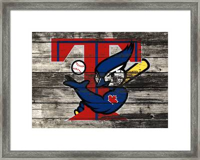 The Toronto Blue Jays  Framed Print by Brian Reaves