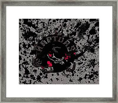 The Toronto Raptors 1b Framed Print by Brian Reaves