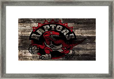 The Toronto Raptors 2a Framed Print by Brian Reaves