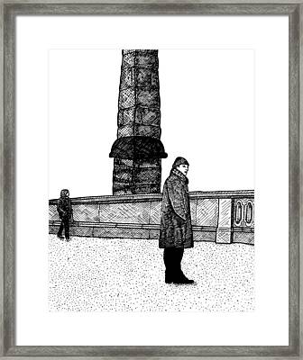 The Tower Framed Print by Karl Addison
