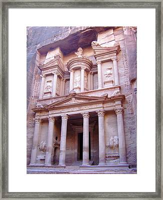 The Treasury Framed Print by Larry Underwood