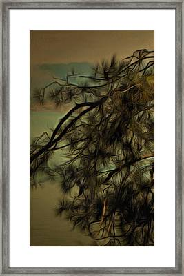 The Tree Triptych Panel 1 Framed Print by Dorothy Berry-Lound