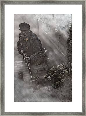 The Trench 2 Framed Print by Mark H Roberts