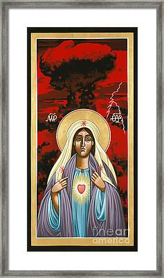 The Triumph Of The Immaculate Heart Of Mary 145 Framed Print by William Hart McNichols