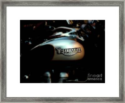The Triumph Framed Print by Steven  Digman