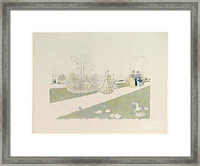 The Tuileries Garden Framed Print by Celestial Images