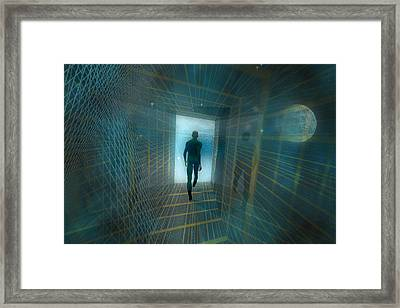The Tunnel Framed Print by Carol and Mike Werner