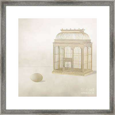 The Unconstrained Gestation Framed Print by Andy Gii