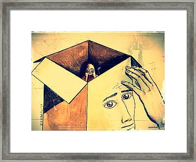 The Unknown That Scares Us Framed Print by Paulo Zerbato