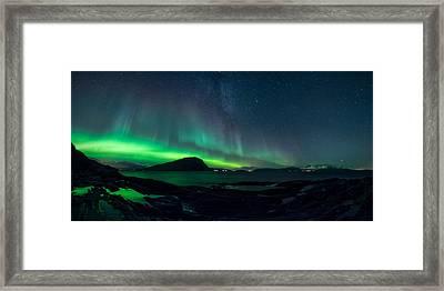 The Valkyrior Framed Print by Tor-Ivar Naess