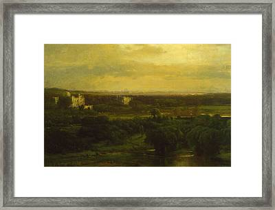 The Valley Of The Olives Framed Print by George Inness