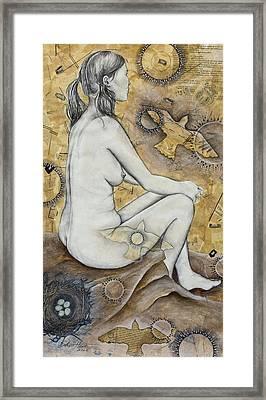 The Vessel Framed Print by Sheri Howe