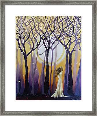 The View Framed Print by Amanda Clark