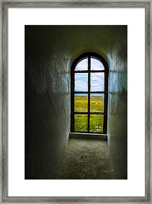 The View Framed Print by Arve Sirevaag