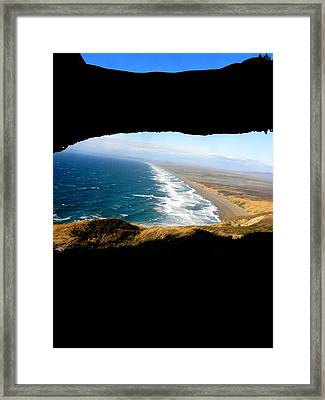 The View Framed Print by Elizabeth Hoskinson