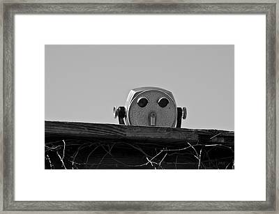 The Viewer No. 1 Framed Print by David Gordon
