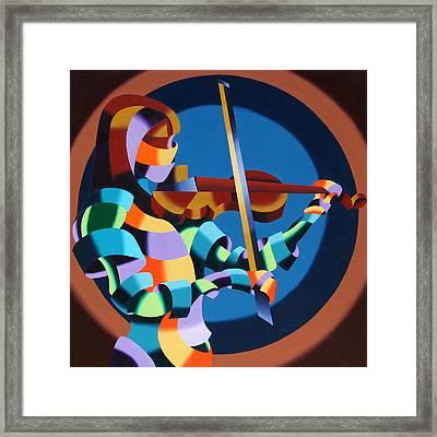 The Violinist Framed Print by Mark Webster