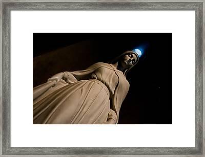 The Virgin Mary Framed Print by Joe Houghton