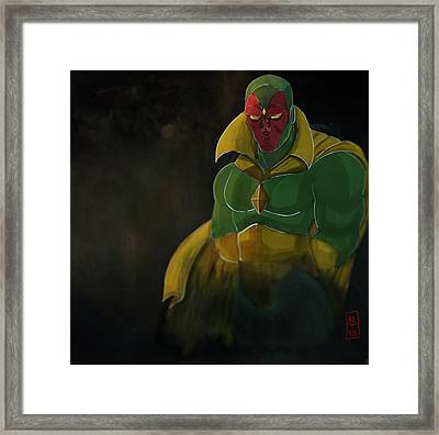 The Vision Framed Print by Nolan Taylor