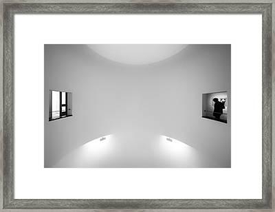 The Visitor Framed Print by Gerard Jonkman