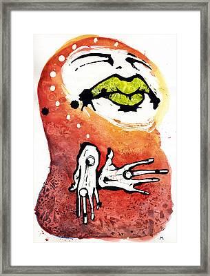 The Voice Framed Print by Mark M  Mellon