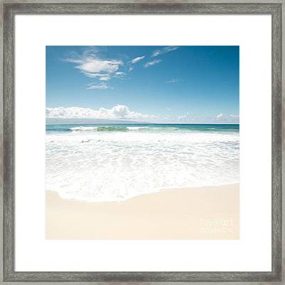 The Voice Of Water Framed Print by Sharon Mau