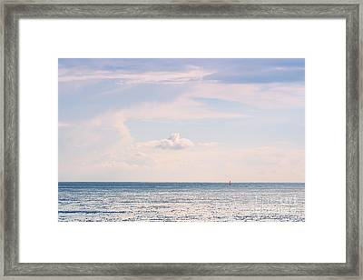 The Wadden Sea Framed Print by Angela Doelling AD DESIGN Photo and PhotoArt