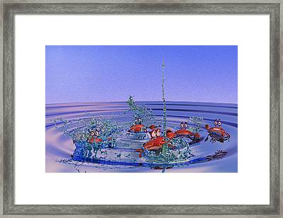 The Wading Pool Framed Print by Betsy C Knapp
