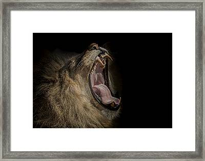 The War Cry Framed Print by Paul Neville