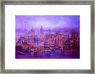 War Effects In Syria Framed Print by Laila Awad Jamaleldin