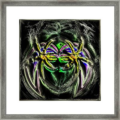 The Warlord Framed Print by Ljubomir Arsic