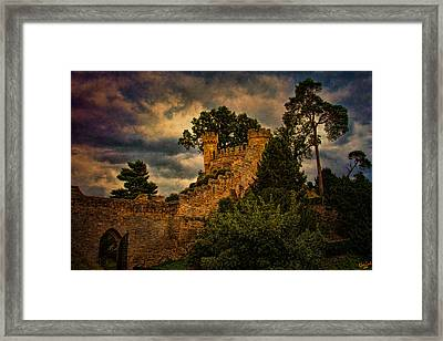 The Watchtowers Framed Print by Chris Lord