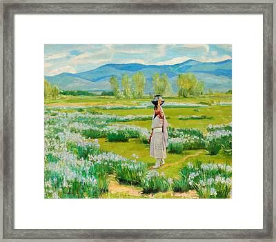 The Water Carrier Framed Print by Celestial Images