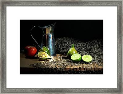 The Water Glove Framed Print by Diana Angstadt