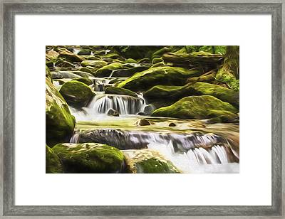 The Water Will II Framed Print by Jon Glaser