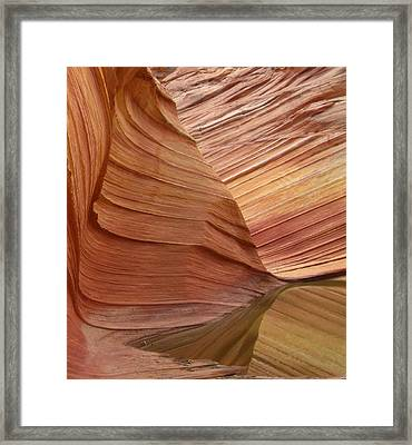 The Wave 2 Framed Print by Melanie and Chris Harman