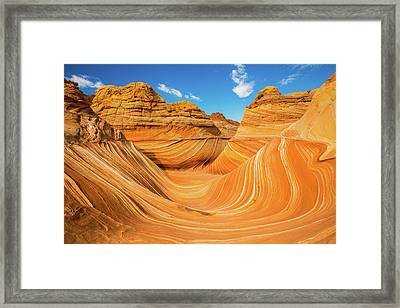 The Wave Framed Print by Edgars Erglis